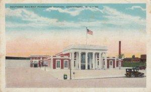 GREENSBORO , North Carolina, 00-10's , Southern Railroad Train Depot