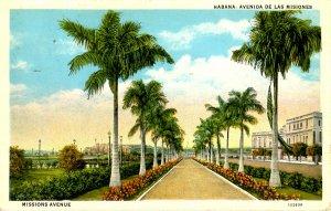 Cuba - Havana. Missions Avenue
