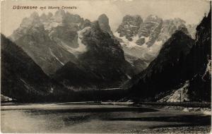 CPA Dürrensee mit Monte Cristallo . ITALY (545127)