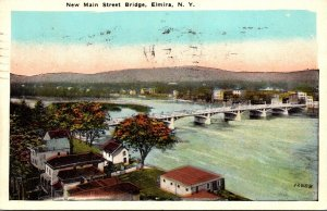 New York Elmira New Main Street Bridge 1927