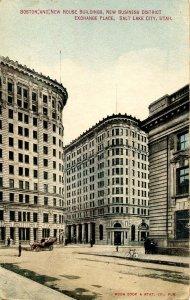 UT - Salt Lake City. Boston & New House Buildings