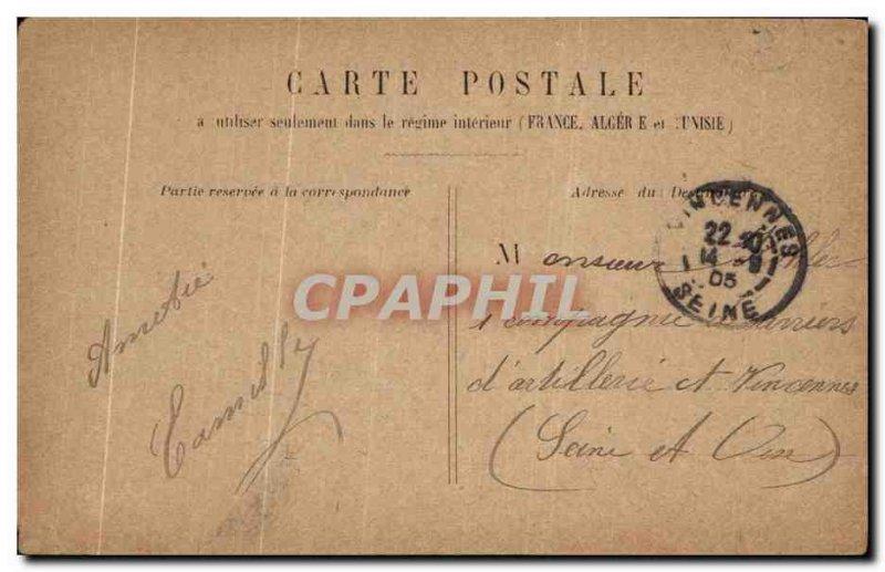 Old Postcard Paris Statue Of The Republic Lion