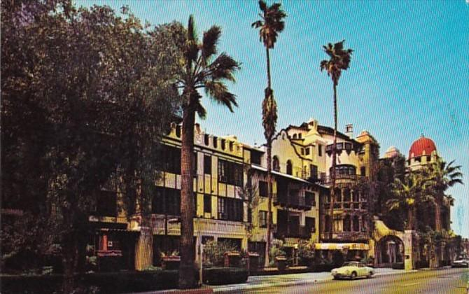 California Riverside Mission Inn Entrance 1965