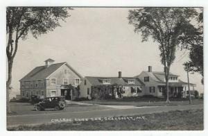RPPC, Searsport , Maine, Early View of College Club Inn