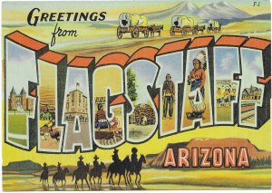 Arizona - Greetings from Flagstaff. used.