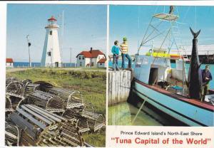 Lighthouse , North-East Shore , P.E.I. , 1960-80s