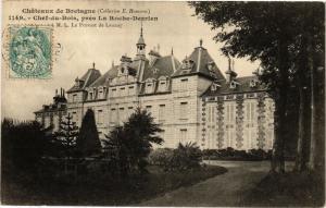 CPA Chateaux de Bretagne-Chef du Bois prés La Roche Derrien (230228)