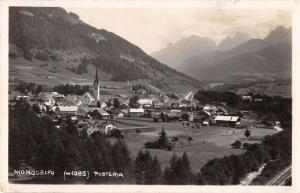 Monguelfo Italy General View Real Photo Antique Postcard J40098