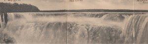 Panorama del Salto mas grande del Mundo. Salto Iguazu , Brazil , 1900-10s