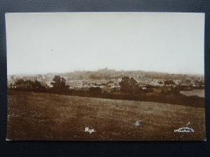 Sussex RYE Panoramic View -  Old RP Postcard by Coopers Series