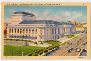 War Memorial & Opera House, San Francisco CA