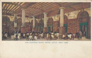 NEW YORK CITY, 00-10s ; Hotel Astor , Hunting Room