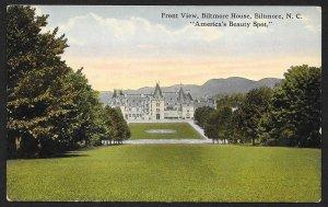 Biltmore House Biltmore North Carolina Unused c1910s