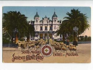 262148 MONACO Souvenir de MONTE CARLO casino satire Rams OLD