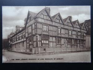 Herefordshire LEDBURY The Park Residence of Lord Biddulph Old Postcard by Tilley