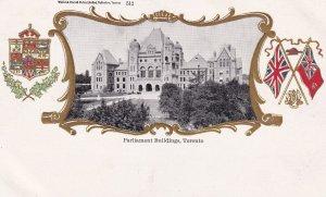 Coat Of Arms, Parliament Buildings, Toronto, Ontario, Canada, 1900-1910s