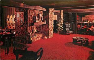 Tucson Arizona~Baron's Beef & Spirits~Interior~S Wilmot Road~1960s Postcard
