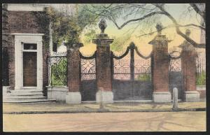 Smyth Gateway Legare Street Charleston S Carolina Unused c1920s H-P