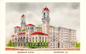 VA - Richmond. Jefferson Hotel