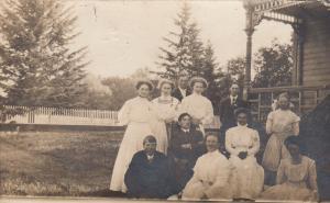 RP, MACDONALD, Alberta, Canada, PU-1909 , Family Portrait