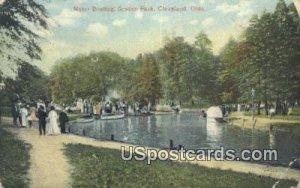 Motor Boating, Gordon Park - Cleveland, Ohio