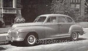 1946 Dodge 4 Door Sedan Automotive, Autos, Cards Old Vintage Antique Postcard...
