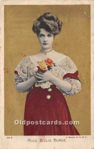 Miss Billie Burke Theater Actor / Actress 1907