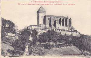 La Cathedrale, Vue Generale, SAINT-BERTRAND-DE-COMMINGES (Haute Garonne), Fra...