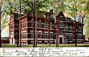 Michigan Mt Clemens High School 1907