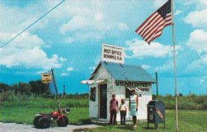 Florida Ochopee Smallest Post Office Building In The U S
