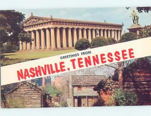Unused Pre-1980 TWO VIEWS ON CARD Nashville Tennessee TN ho7446