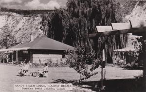 RP; Sandy Beach Lodge , Holiday Resort, Exterior, NARAMATA , B.C., Canada , 30-4