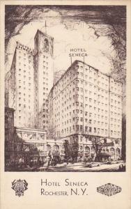 New York Rochester Hotel Seneca