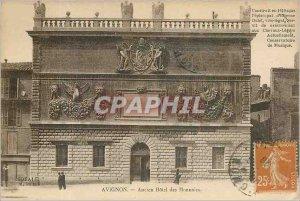 Old Postcard AVIGNON - Hotel Old Mint