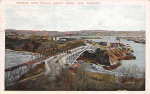 New Brunswick Saint John    Bridge and Falls