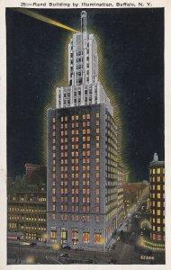 BUFFALO, New York, 1900-1910's; Rand Building By Illumination