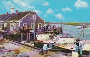 Massachusetts Cape Cod Harbor Scene