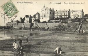 CPA Paramé - Pointé de Rochebonne (112007)