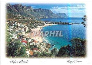 Modern Postcard Clifton Beach Cape Town South Africa