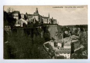 158217 LUXEMBOURG Barracks Casernes Vintage postcard