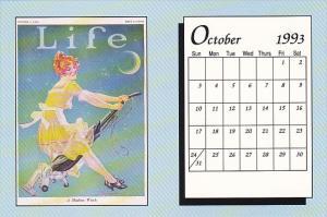 October 1993 Limited Editon Calendar Card