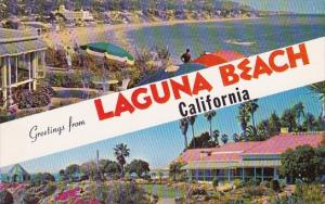 Greetings From Laguna Beach California