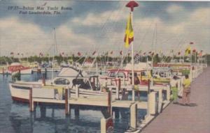 Florida Fort Lauderdale Bahia Mar Yacht Club Curteich