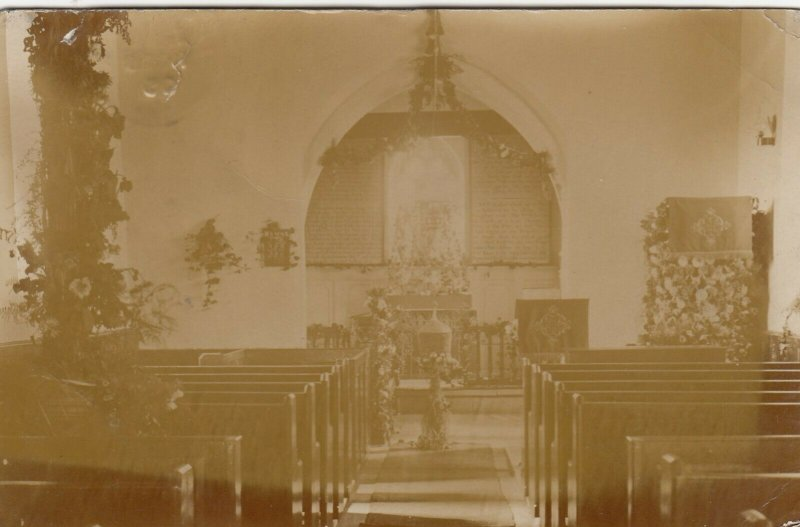 RP: BLUNDELLSANDS , Merseyside , England , 1905 ; Church Interior
