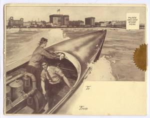 Giant Tri-fold, ATLANTIC CITY , New Jersey , 00-10s; Multiple views of Chalfonte