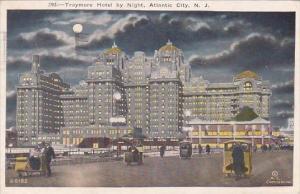 Traymore Hotel By Night Atlantic City New Jersey 1925