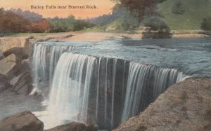 STARVED ROCK , Illinois, 1900-10s; Bailey's Falls