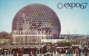 Canada Montreal Expo 67 United States Pavilion