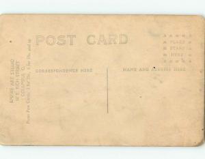 Pre-1918 rppc Gay Interest HANDSOME MAN IN SUIT Columbus Ohio OH HM3128