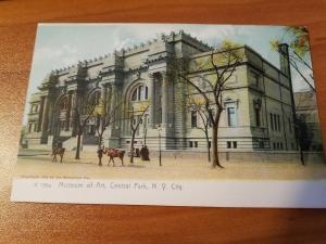 Antique Museum of Art, Central Park, NY Circa 1905 - Rotograph Company